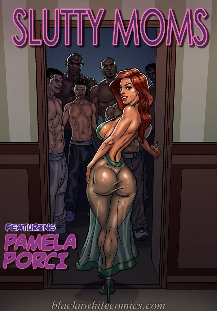 Free Download Adult Comics SLUTTY MOMS by BLACKNWHITECOMICS Update
