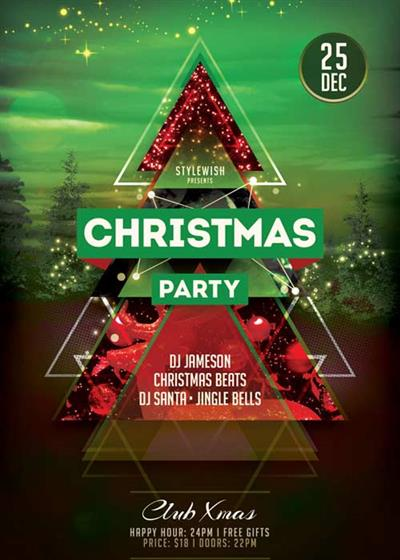 Christmas Party V60 2017 Flyer Template