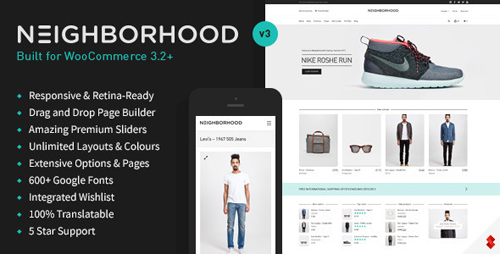 ThemeForest - Neighborhood v3.4.75 - Responsive Multi-Purpose Shop Theme - 5086341