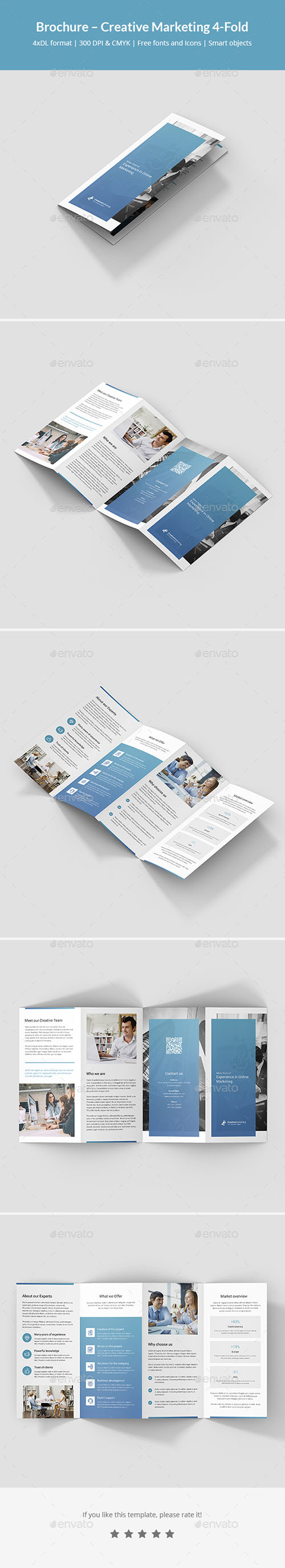 GR - Brochure – Creative Marketing 4-Fold 21487774
