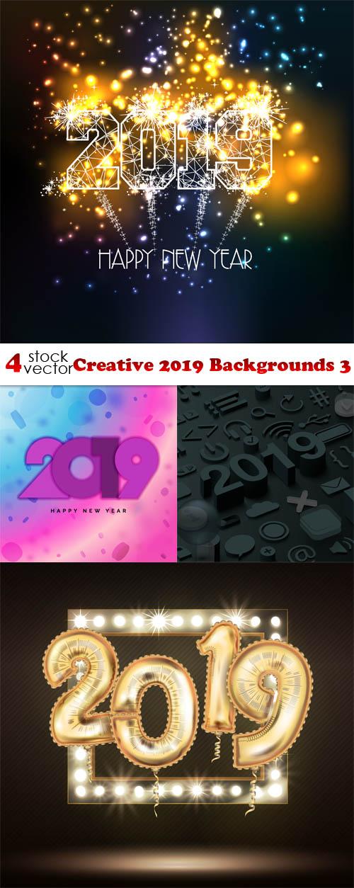 Vectors - Creative 2019 Backgrounds 3