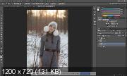 Зимние фотографии. Ретушь и обработка (2017) HDRip