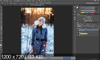 Зимние фотографии. Ретушь и обработка (2017)