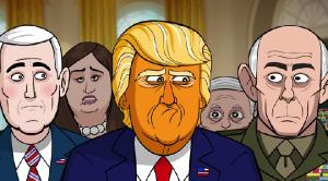 Наш мультяшный президент / Our Cartoon President (1 сезон: 11 выпусков из 13) (2018) WEBRip от Jaskier