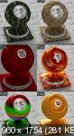Материалы и текстуры - 350 Vray 3D-materials (part 2)