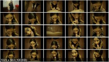 Blowjob (DirtyGirlMary) Game schoolgirl – shit Blowjob [FullHD 1080p] Poop, Defecation