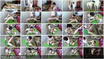 Defecation (BigTitsAlisa) One morning of our lives [FullHD 1080p] Amateur, Lesbians
